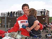 Fabian Stutz con Michaela