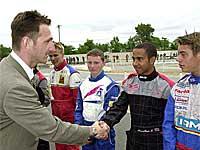 Ruben Fontana & Lewis Hamilton