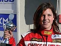 Andrina Gugger sul podio